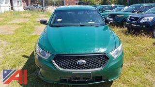 2013 Ford Taurus Sedan/Police Emergency Vehicle
