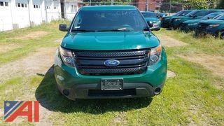 2015 Ford Explorer SUV/K9 Police Emergency Vehicle