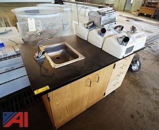 Lab Sink & Hand Dryers