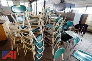 Assorted School Chairs