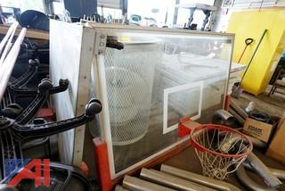 "72"" Glass Basketball Backboards"