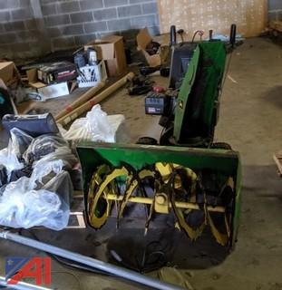 John Deere Snow Blower & More