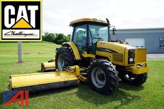 CAT Challenger MT445B 4WD Agricultural Tractor and Mowers
