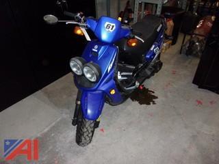 Yamaha Zuma Moped