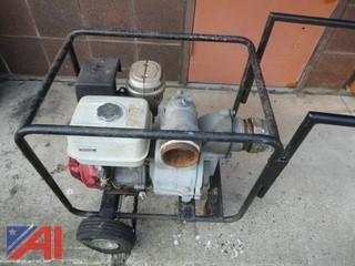 Honda GX340 Trash Pump