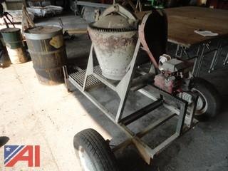 Trailered Cement Mixer