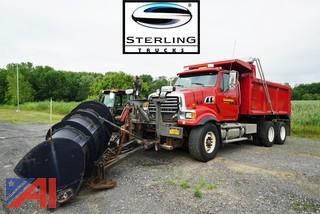 2008 Sterling LT9500 10 Wheel Dump Truck with Plow & Spreader