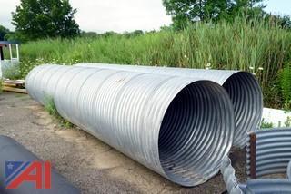 """36"""" Diameter Galvanized Corrugated Pipe"""