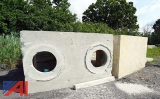 Split Precast Cement Septic Tank System