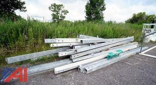 Galvanized Guardrails