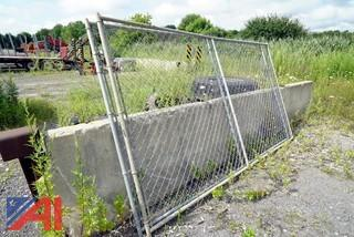 Temporary Chain Link Fencing and Stands