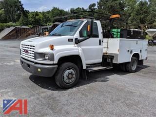 2007 GMC 5500 Utility Truck