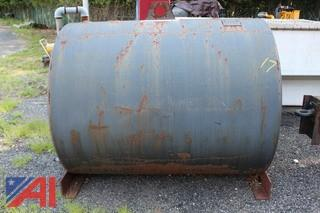 500 Gallon Steel Water Tank