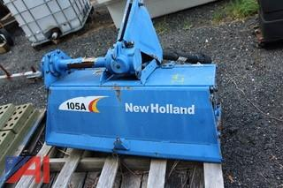 New Holland 105A Roto Tiller