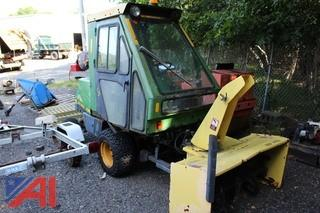 "John Deere F1145 72"" Snow Blower Machine"