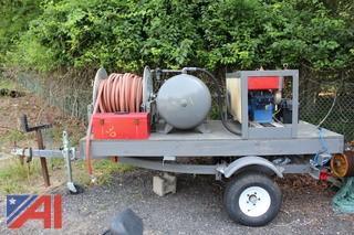 Dayton Air Compressor Unit