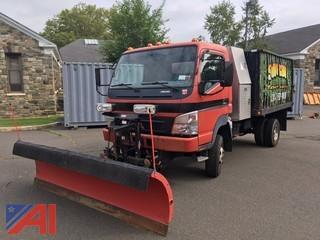 2007 Mitsubishi Fuso FG140 Dump Truck with Plow