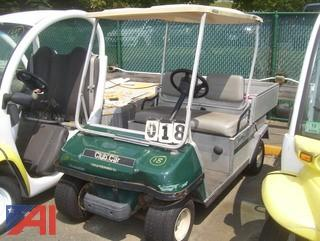 Club Car Turf Truckster Electric Car