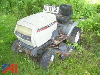 "White GT180 48"" Lawn Mower"