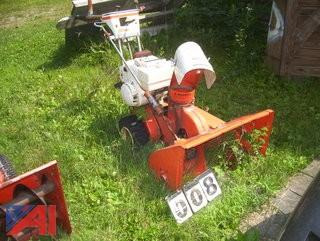 Simplicity 828 Snowblower