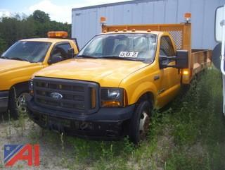 2005 Ford F350 XL Super Duty Flatbed Dump Truck