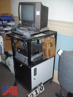AV Cart with Contents