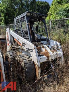 Bobcat 853H Skid Steer