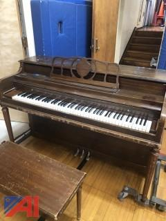 Sohmer Primrose Upright Piano