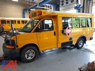 2009 Chevy Express Mini School Bus