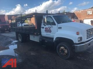 1999 Chevy C5500 Flatbed Truck