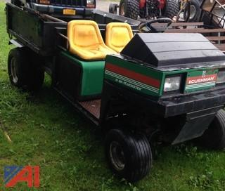 Cushman Truckster Industrial Utility Vehicle