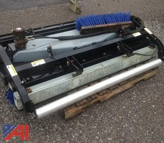 Greens Keeper Sweeper with Roller