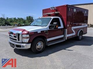 2008 Ford F350 XLT Super Duty Ambulance
