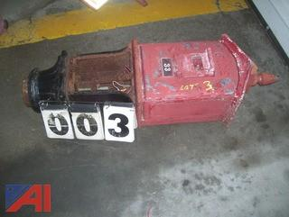 Gamewell Fire Box with Pedestal