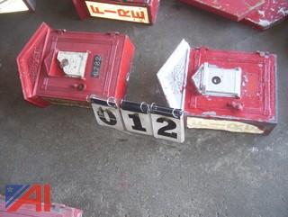 Gamewell Fire Pull Boxes