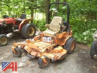 "2002 60"" Scag Turf Tiger Zero Turn Lawn Mower"