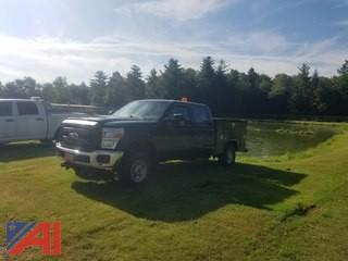 2011 Ford F250 Super Duty King Cab Pickup with Utility Body with Plow