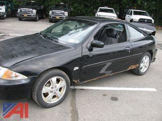 2002 Chevy Cavalier 2 Door