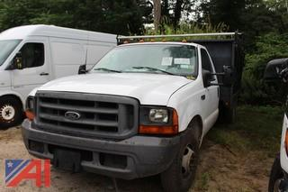 1999 Ford F350 Super Duty Rack Truck