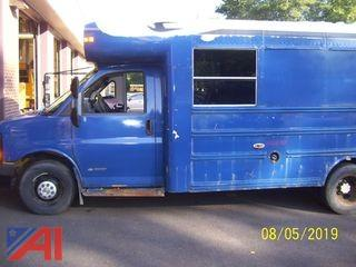 2005 Chevrolet Express 3500 Mini School Bus