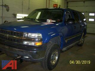 2005 Chevrolet 2500 Suburban