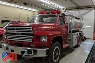 1986 Ford F700 Tanker