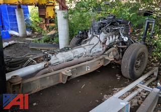 Chevy Frame, Engine & Tranny