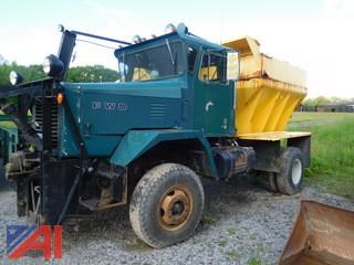 1974 FWD Truck with Plow and Sander