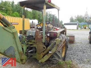 1980 John Deere JD410 Backhoe Loader Tractor