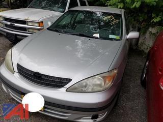 2003 Toyota Camry 4 Door