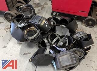 Various Welding Helmets