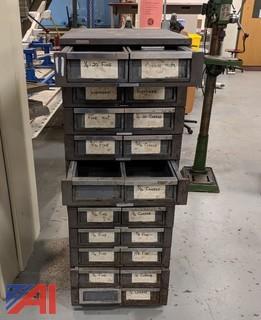 Wright Line Metal Hardware Bin