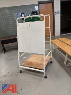 Copernicus Rolling Dry Erase Board