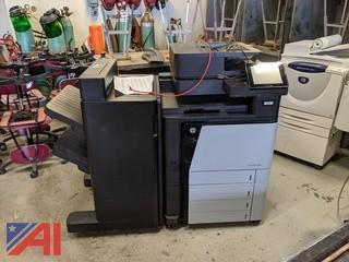 HP Color LaserJet Flow Copier Machine